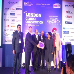 Global Indian International School wins the prestigious Golden Peacock Award for Innovation Management at the 16th London Global Convention
