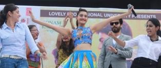 Sonam Kapoor &  Super-star Fawad Khan fascinated LPU Students