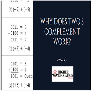 Why does two's complement work?