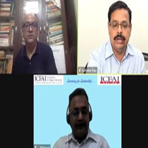 ICFAI conducts interactive online webinar session on