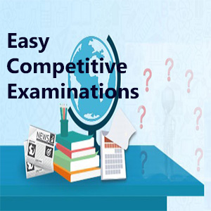Which is the easiest competitive exam in India?