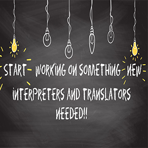 How to become an Interpreter and translator