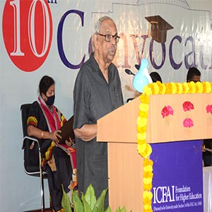 ICFAI holds its 10th Convocation