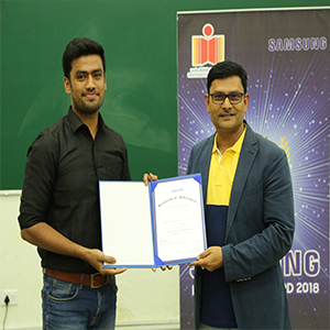 Samsung Innovation Awards Recognizes Innovations by IIT Hyderabad Students