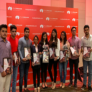 Ten Indian students appointed ambassadors for South Australia