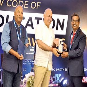ICFAI Business School bags New Code of Education Award 2021
