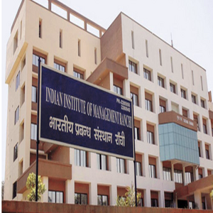 IPM at IIM Ranchi – Career Option for +2 Students