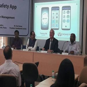 Thales Foundation GeoHazards Society launchSchool Safety Mobile Application