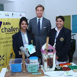 Embassy of Sweden felicitates winners of 7-day challenge