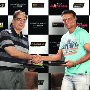 Aptech signs Rahul Dravid as Global Brand Ambassador