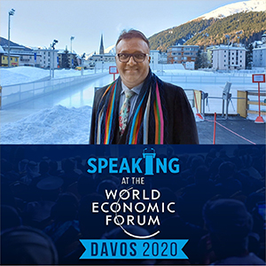 JGU Vice Chancellor to Address Global Panels at the World Economic Forum (WEF) Davos