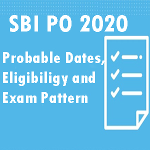 SBI Probationary Examination - 2020