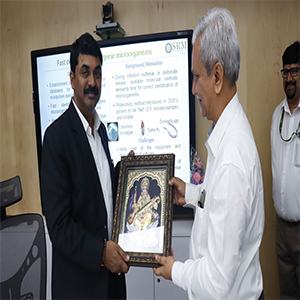 SRM University hosts Dr G Satheesh Reddy for discussing Aerospace Development
