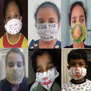 Students of Kreative Minds thinks beyond Creativity