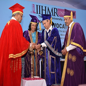IIHMR University convocation 2016