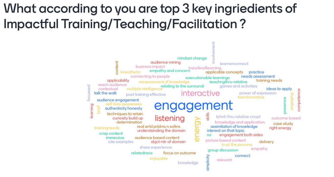 top 3 ingredients of impactful training