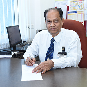 Prof. Dr. Radhakrishna S. Aithal, Director of International Centre for Applied Sciences (ICAS),  Manipal Academy of Higher Education (MAHE)