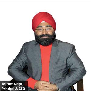 Tejinder Singh,Principal & CEO