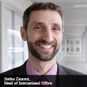 Stefan Zammit,Head of International Office