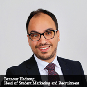 Bannour Hadroug,Head of Student Marketing and Recruitment