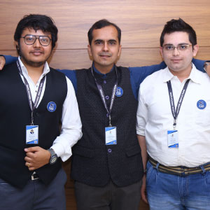 Rachit Dave, Raj Kothari and Rutvij Vora,CEO & Co-Founder, Business Head & Co-Founder, and CTO & Co-Founder