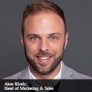 Akos Kiraly,Head of Marketing & Sales