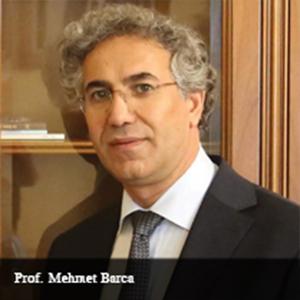 Prof Mehmet Barca,Rector