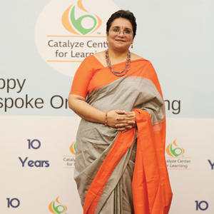 Dr. Rajashree Krishnaswamy,Founder and CEO
