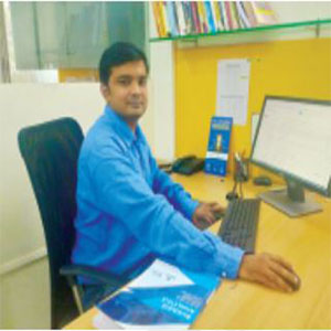 Ankush Bhandari,Head of IMS Proschool CPS