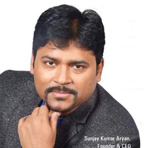 Sunjay Kumar Aryan,Founder & CEO