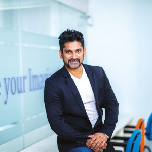 Mahesh Sriram,CEO and Founder