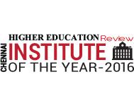 Chennai Institute of the Year 2016