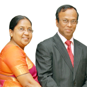 Dr. S. Cletus Babu and Dr. Amali Cletus Babu,Founder Chairman and Vice-Chairperson