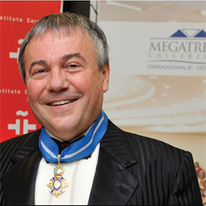 Prof. Mica Jovanovic,Rector