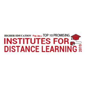 Top 10 Most Promising Distance Learning Institutes ­ 2019