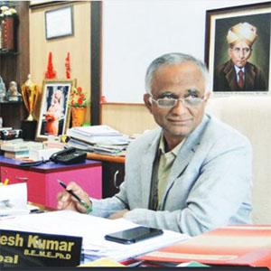 Dr. B. G. Naresh Kumar,Principal