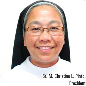 Sr. M. Christine Pinto,President