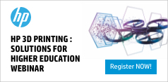 HP 3D Printing: Solutions for Higher Education Webinar