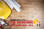 Civil Engineering Colleges in India 2018