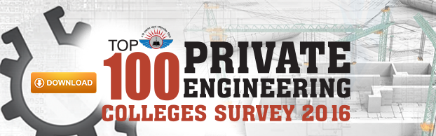 Top 100 Private Engineering Colleges, 2016