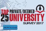 Top 25 Universities in India 2017