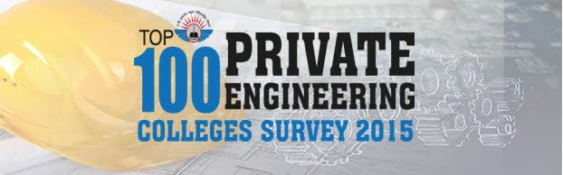 Top 100 Private Engineering Colleges, 2015
