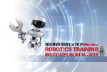Robotics Training Institutes in India 2018