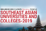 Southeast Asian Universities and Colleges 2019