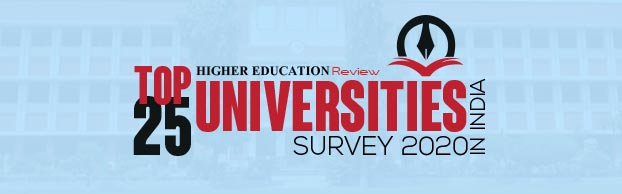 Top 25 Universities in India Survey - 2020