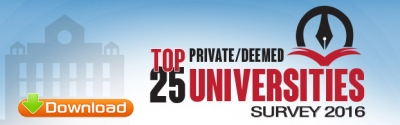 Top 25 Universities in India 2016