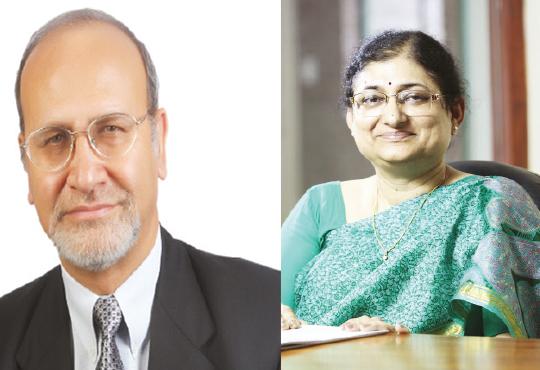 Dr. Upinder Dhar, Vice Chancellor & Santosh Dhar