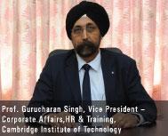 Prof. Gurucharan Singh